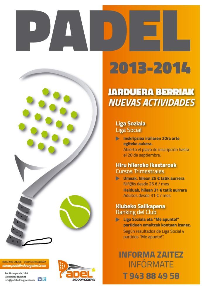 Nuevas Actividades 2013-2014