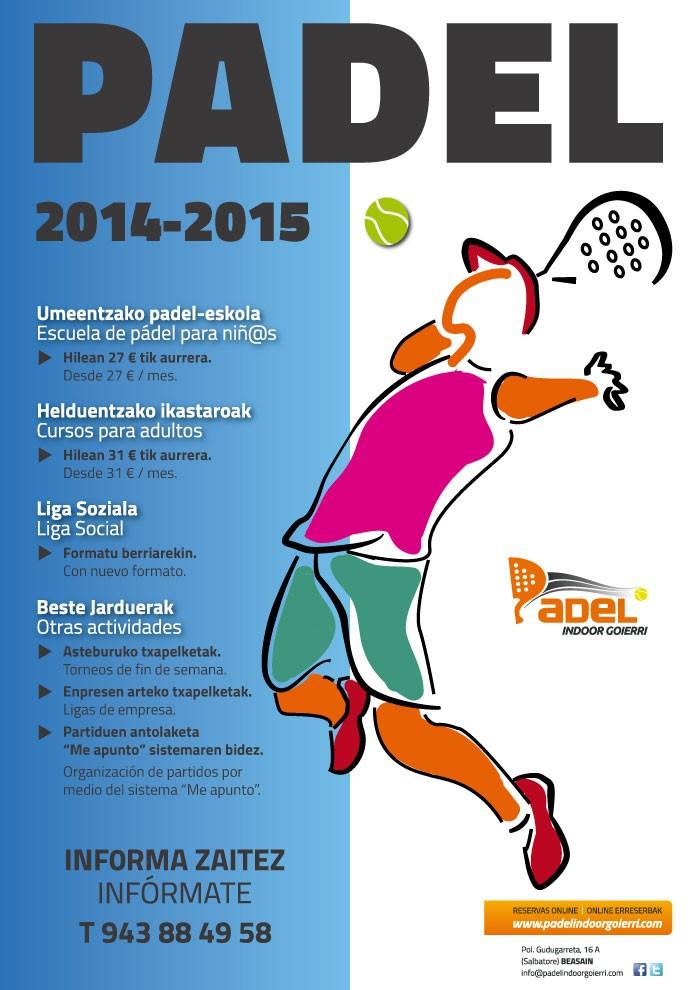 Nuevas Actividades 2014-2015