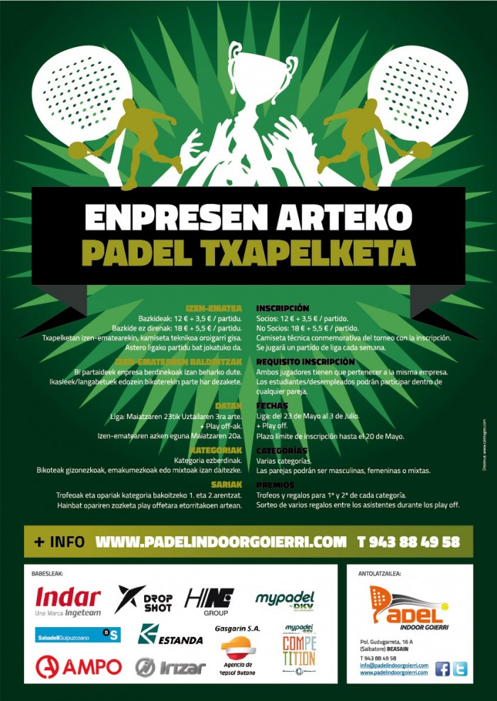 Liga Padel Interempresas 2016