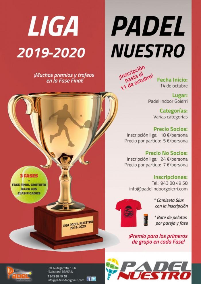 Liga Padel Nuestro 2019-2020